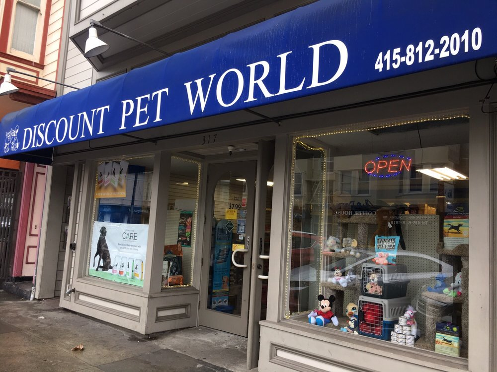 Discount Pet World: 317 Clement, San Francisco, CA