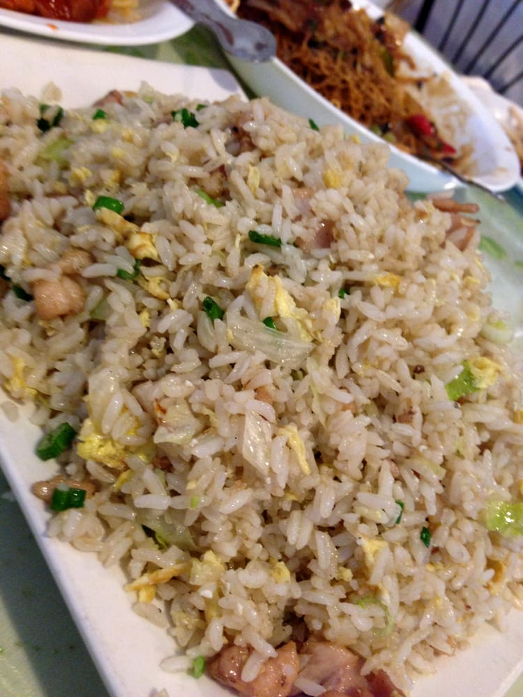 Diced Chicken Amp Salted Fish Fried Rice Yelp