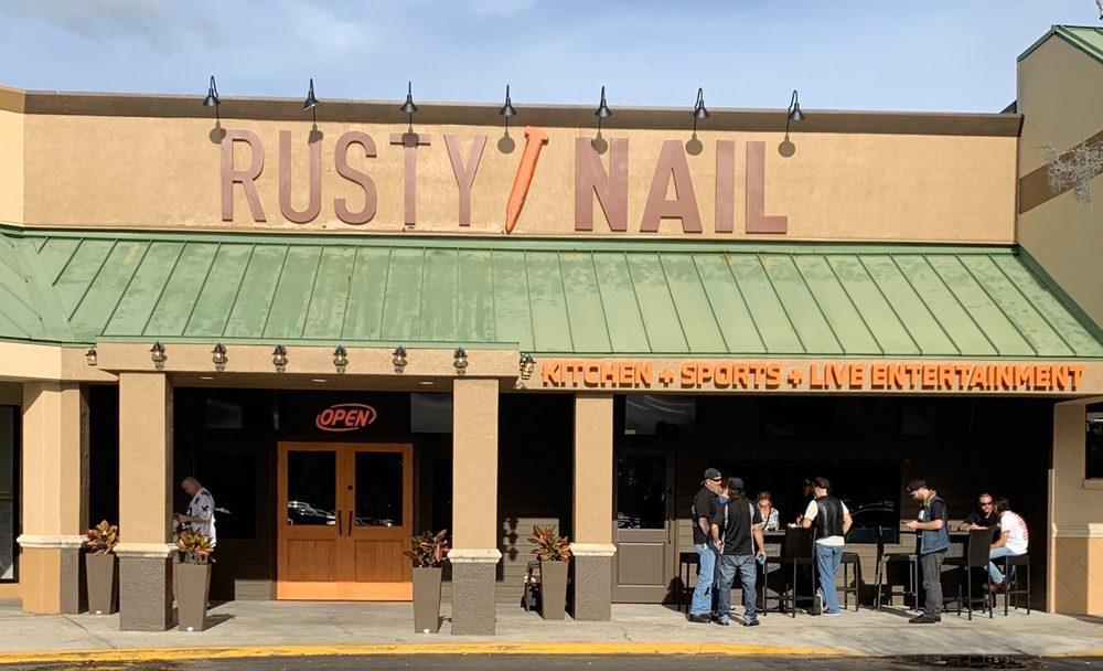 The Rusty Nail: 4535 Gunn Hwy, Tampa, FL