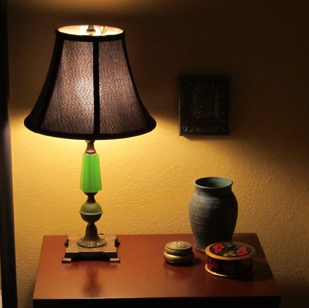 Rainbow lamp shade