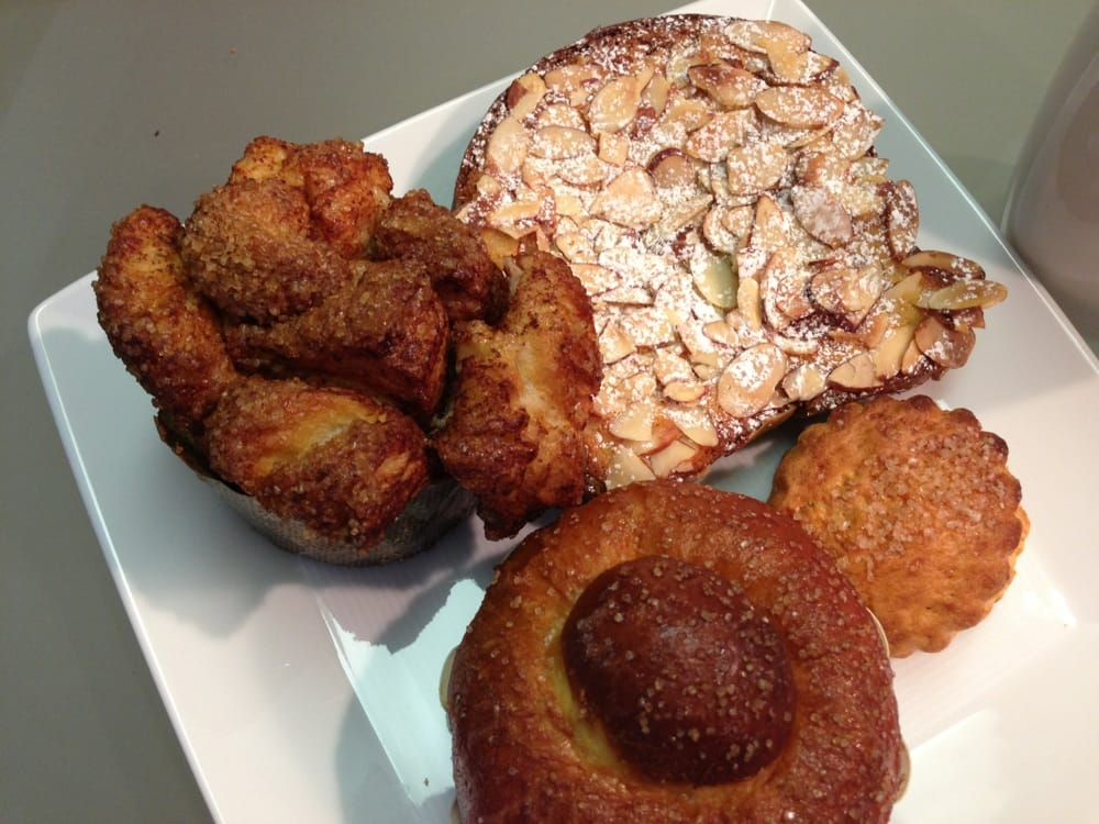 Monkey Bread (Cinnamon), Bostock (Brioche w/ almond paste ...