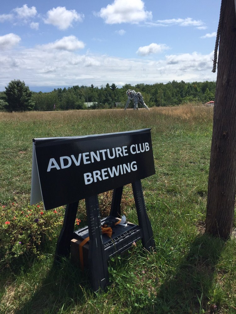 Adventure Club Brewing: 35265 S country Hwy J, Bayfield, WI