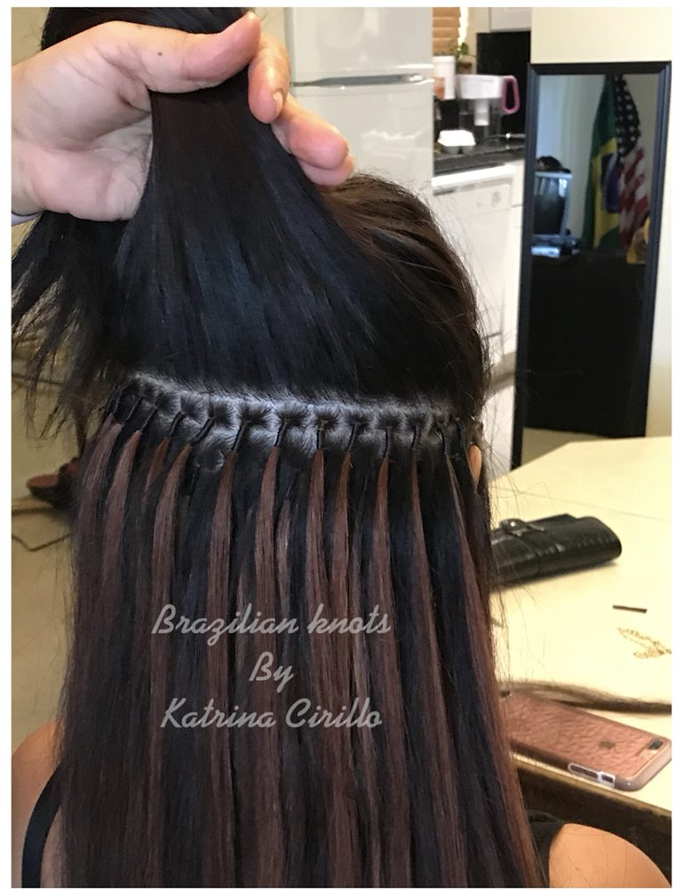 Inside Of Brazilian Knots Hair Extensions Yelp