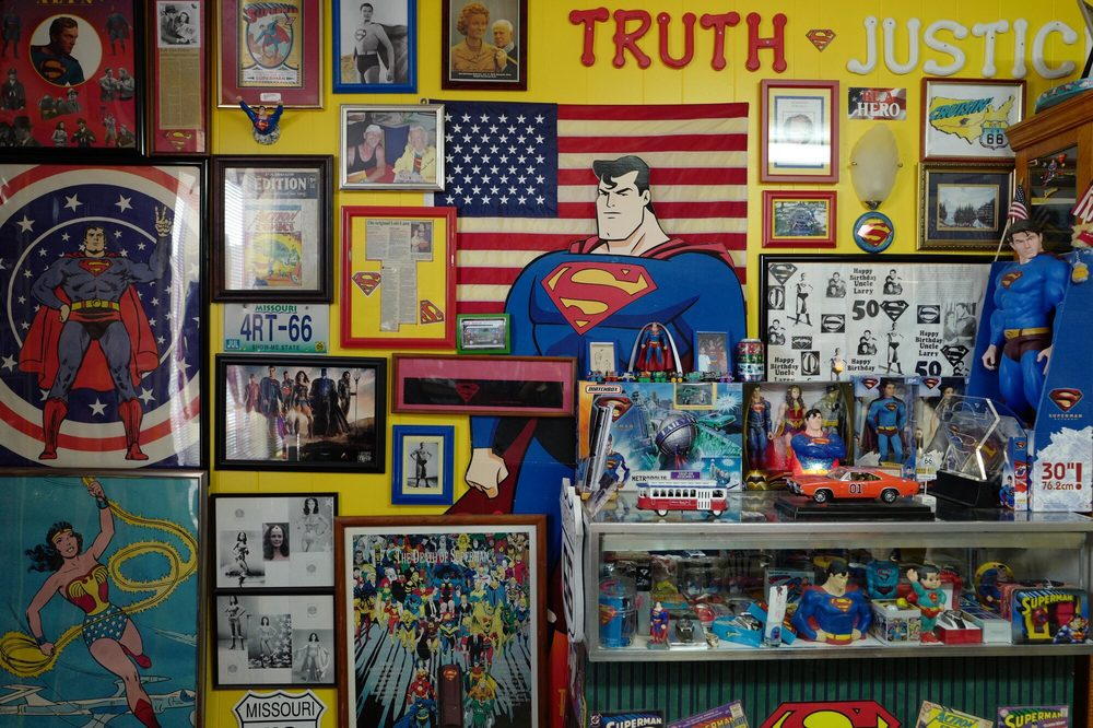 Superman On Sixty Six: 221 W Main St, Carterville, MO