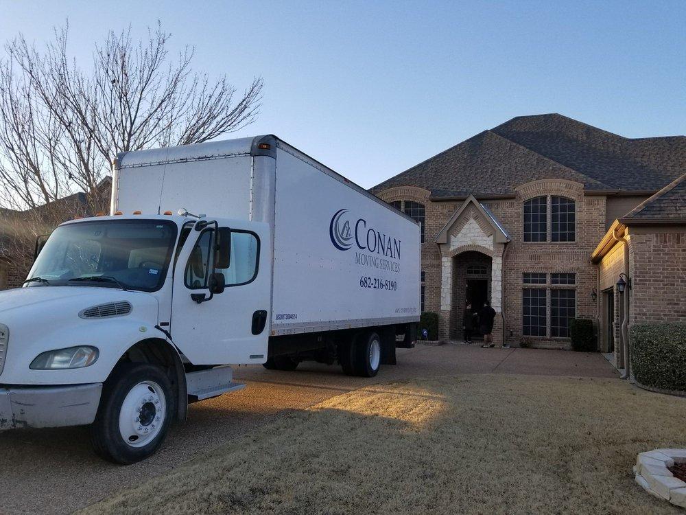 Conan Moving