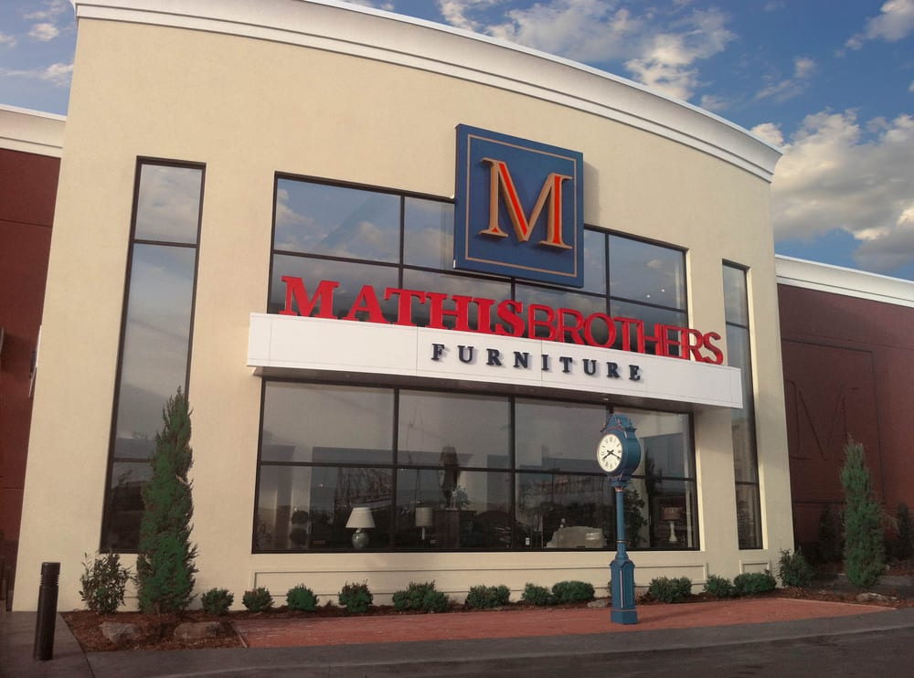 Mathis brothers furniture main entrance yelp
