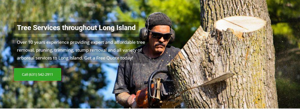 Tree Removal Long Island: 85-D Comsewogue Rd, Long Island, NY