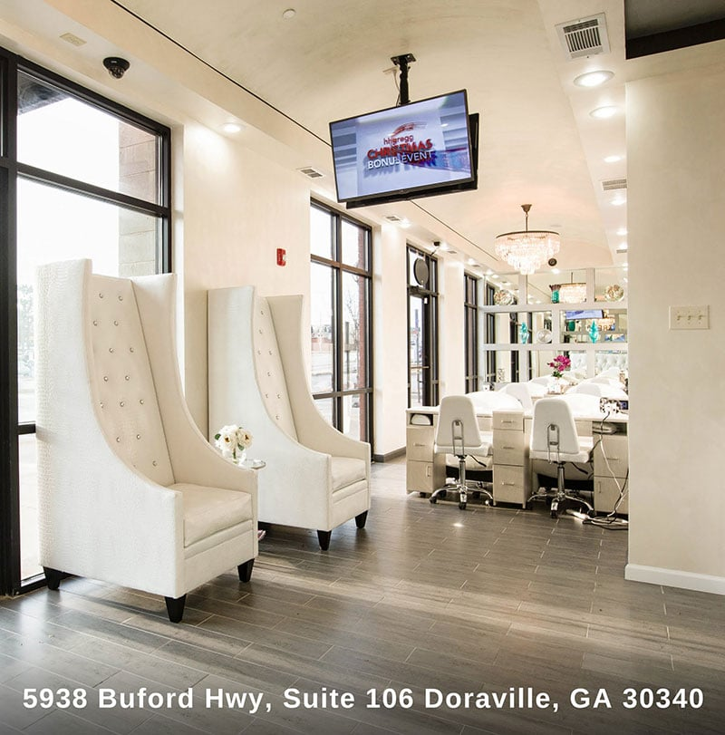 Charmant Photo Of Treat Your Nails   Doraville, GA, United States. Beautiful Waiting  Room