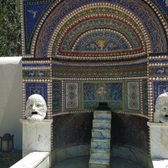 'Photo of The Getty Villa - Pacific Palisades, CA, United States. Mosaic fountain' from the web at 'https://s3-media3.fl.yelpcdn.com/bphoto/034enbarmNhzQ5ryb2DL0w/168s.jpg'