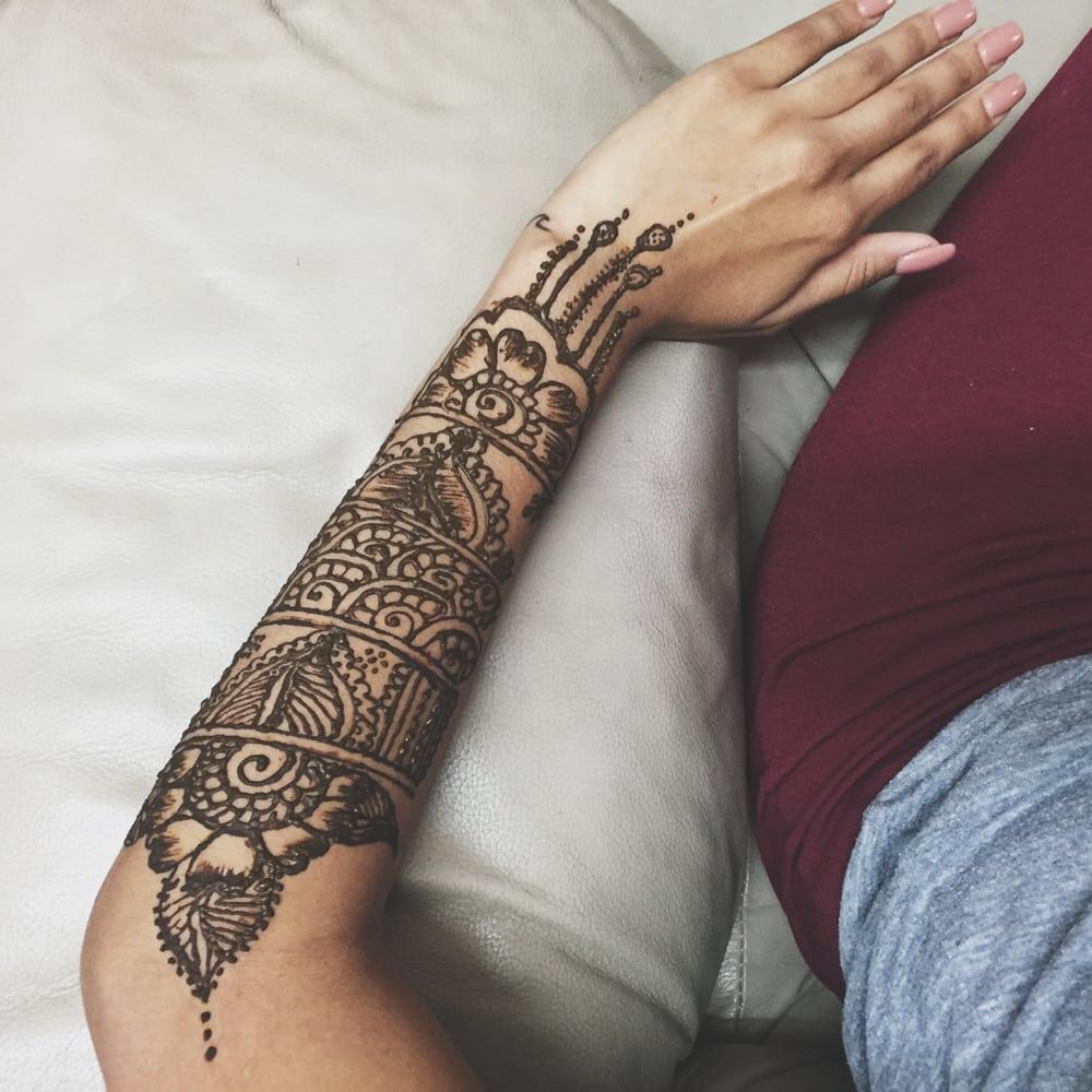 Lower Arm Henna Tattoo: Rita's Parlour