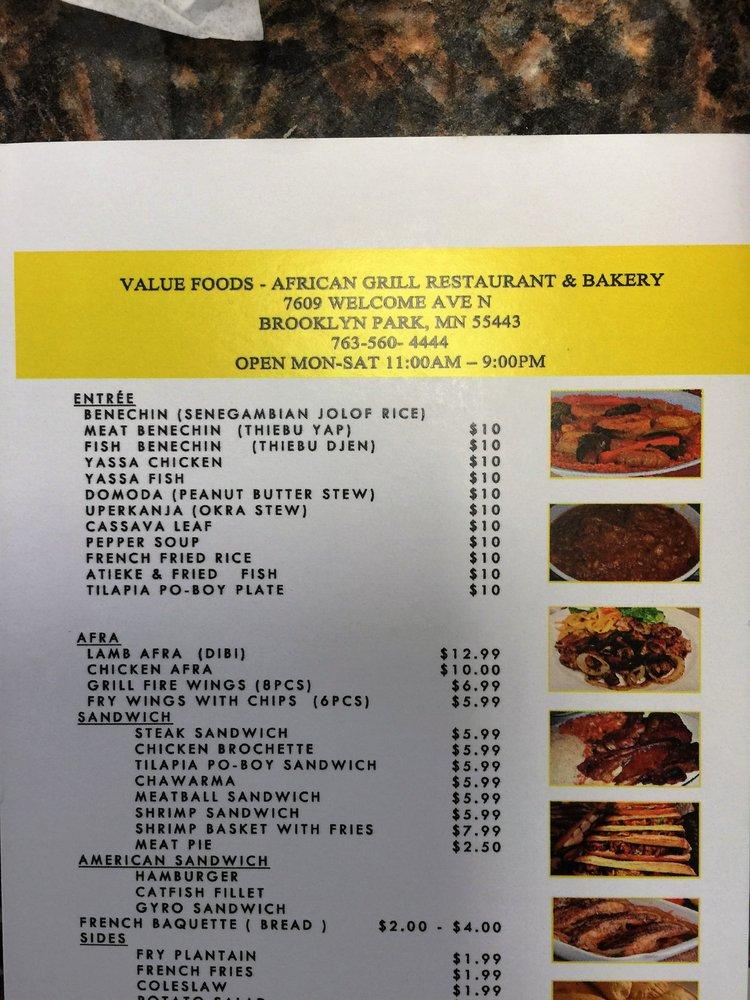 Value Foods African Market Brooklyn Park Mn