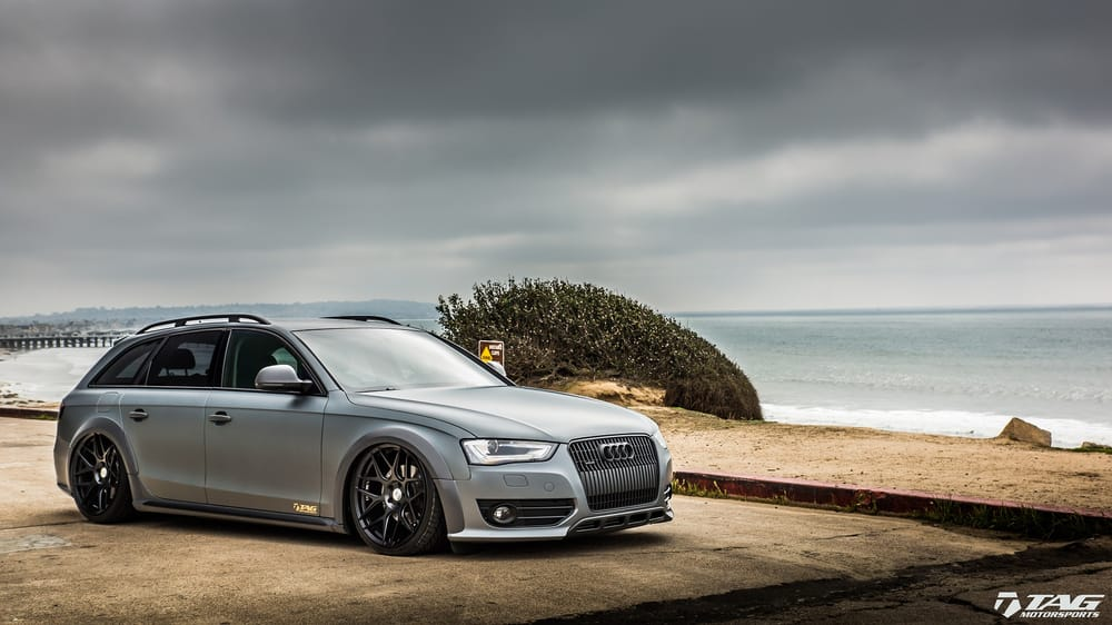 2014 Audi Allroad Full Custom Wrap With Xpel Stealth Ppf