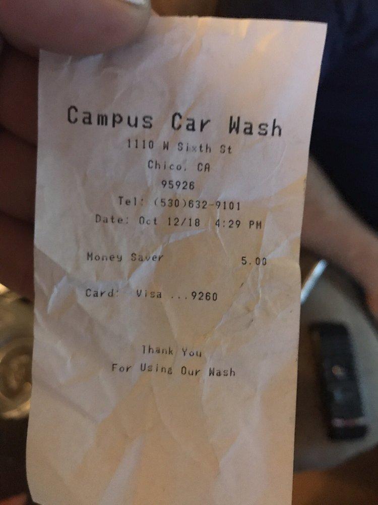 Campus Carwash: 540 Walnut St, Chico, CA