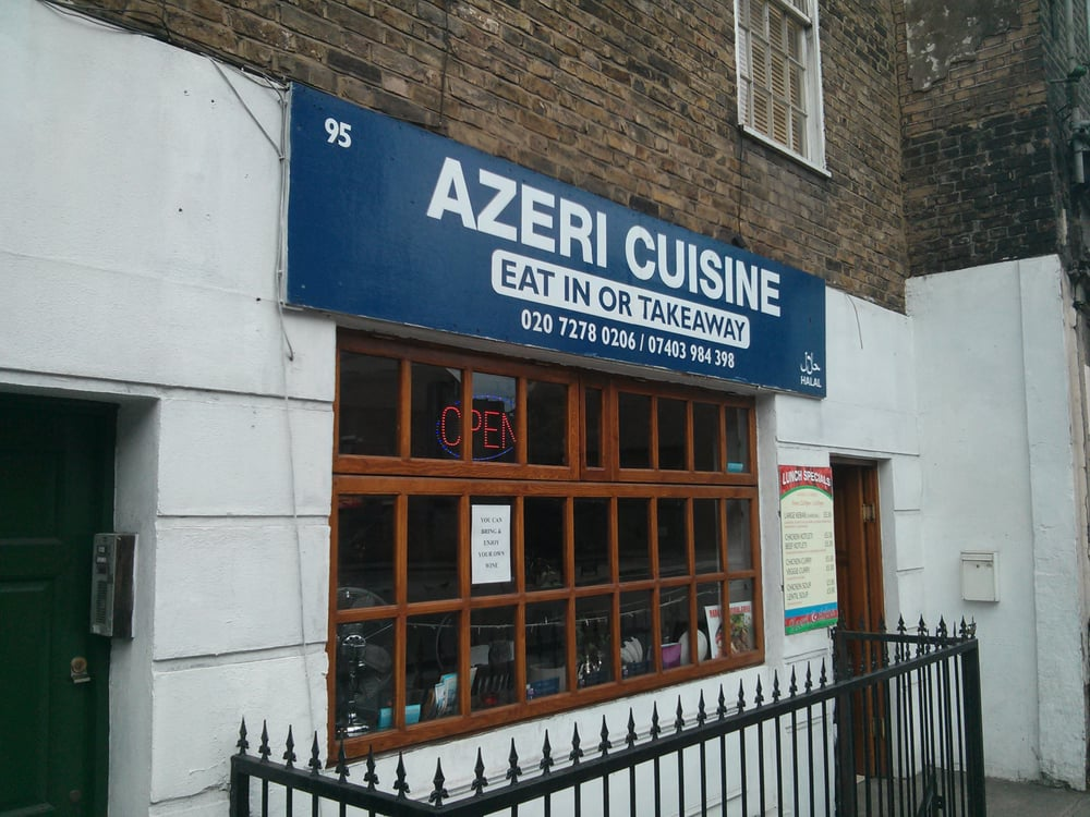 Azeri cuisine asian fusion 95 caledonian road king 39 s for Azeri cuisine caledonian road