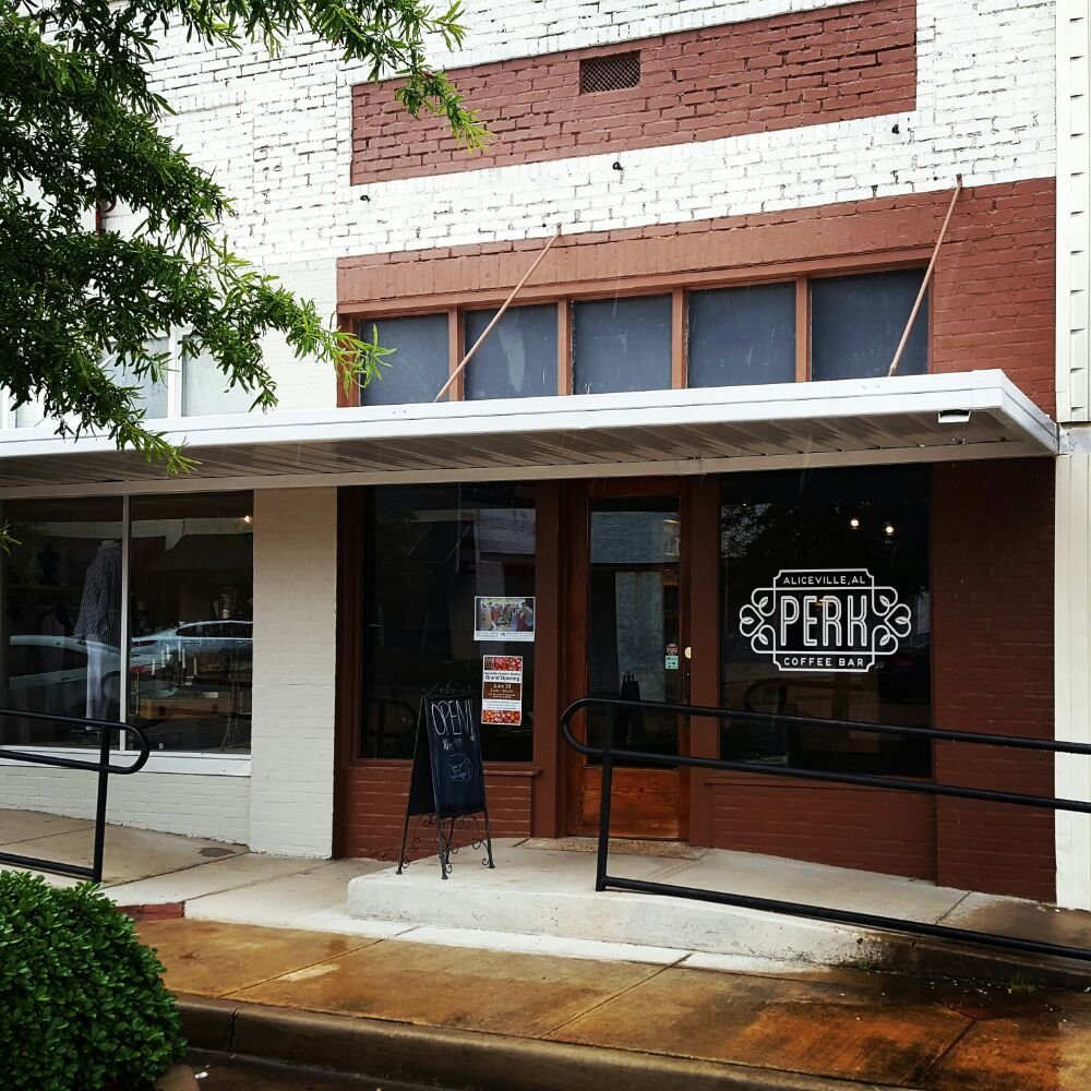 Perk Coffee Bar: 220 Broad St NE, Aliceville, AL