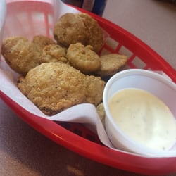 Photo Of Backyard Bar And Grill   Pemberton, MN, United States. Fried  Pickles