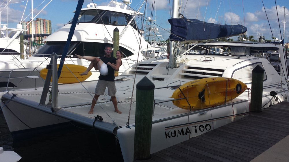 Sailing Kuma Too: Dunedin, FL