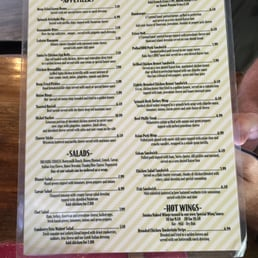 Photos For The Wooden Nickel Pub Grill Menu Yelp
