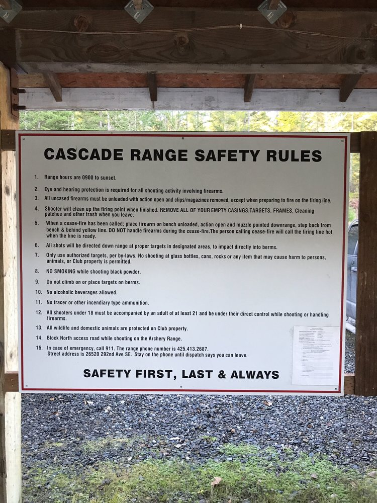 Cascade Shooting Facilities: 26520 292nd Ave SE, Ravensdale, WA