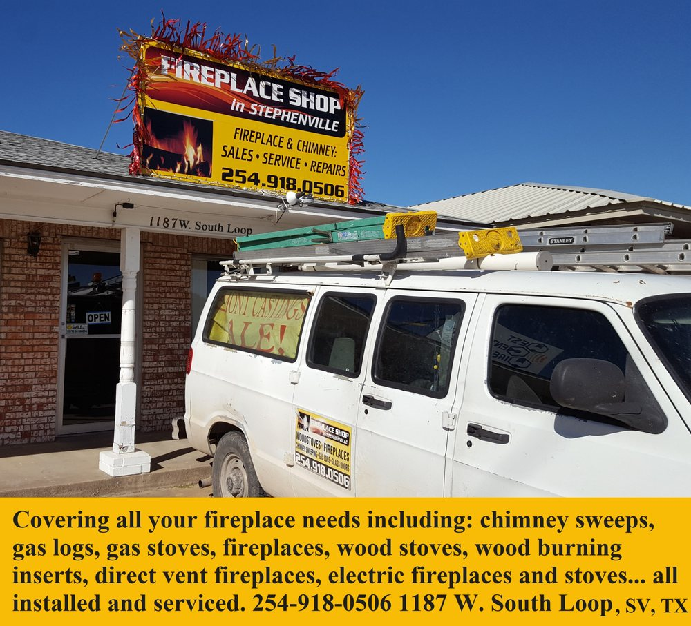 Fireplace Shop in Stephenville: 1187 W South Lp, Stephenville, TX