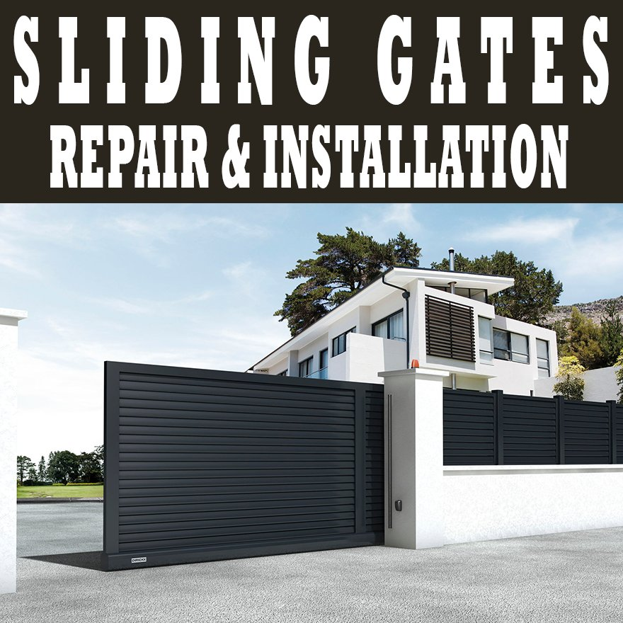 New sliding gate installation in agoura hills yelp for Garage door repair agoura hills