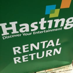 Hastings Book Music & Video logo