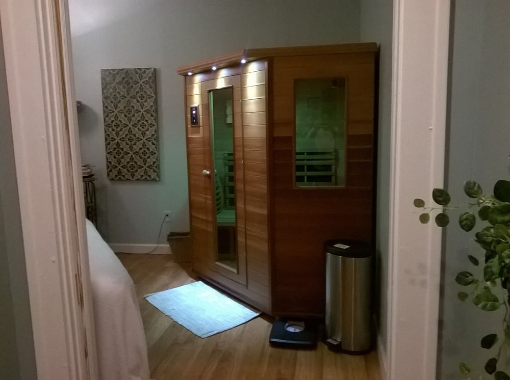 far infrared sauna with color light therapy yelp. Black Bedroom Furniture Sets. Home Design Ideas