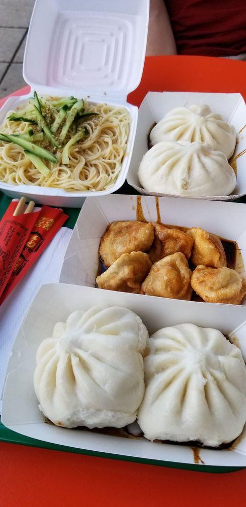 Food from May Way Dumplings