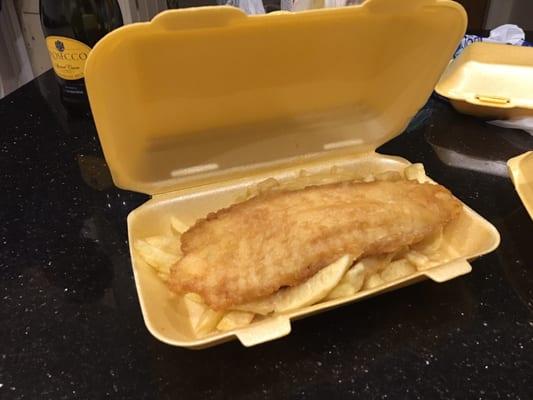Village chippy fish n 39 chips 205 darwen road bolton for Light batter for fish