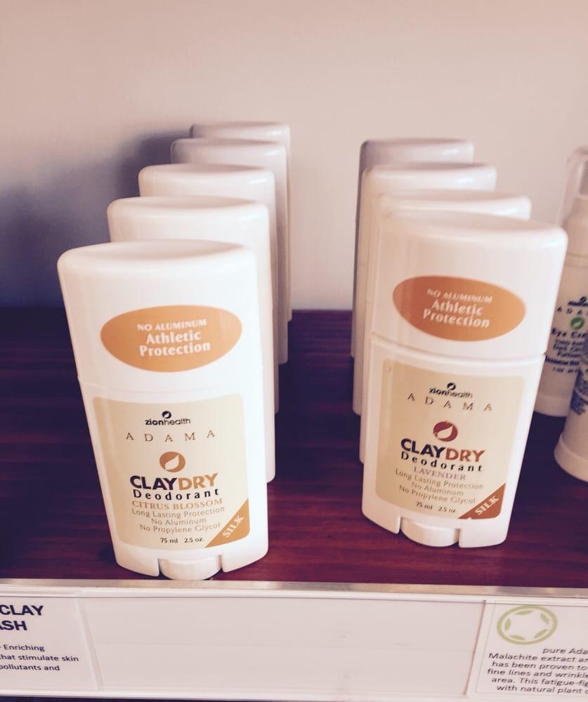 Clay deodorant that smells like a pleasant eco-friendly