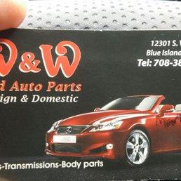 Lkq Blue Island >> W & W Foreign Auto Parts - Auto Parts & Supplies - 12301 ...
