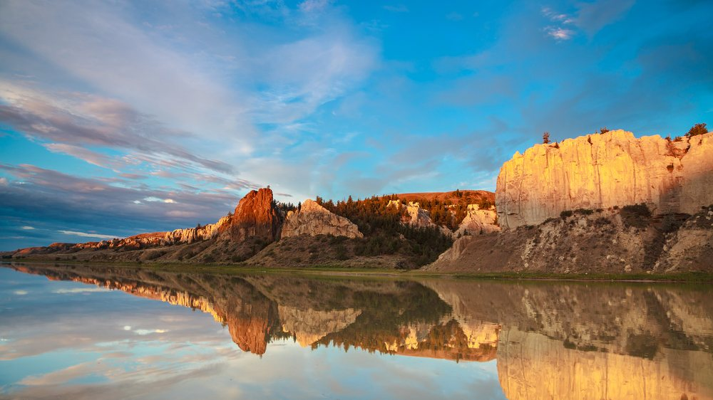 Adventure Bound Canoe: Fort Benton, MT