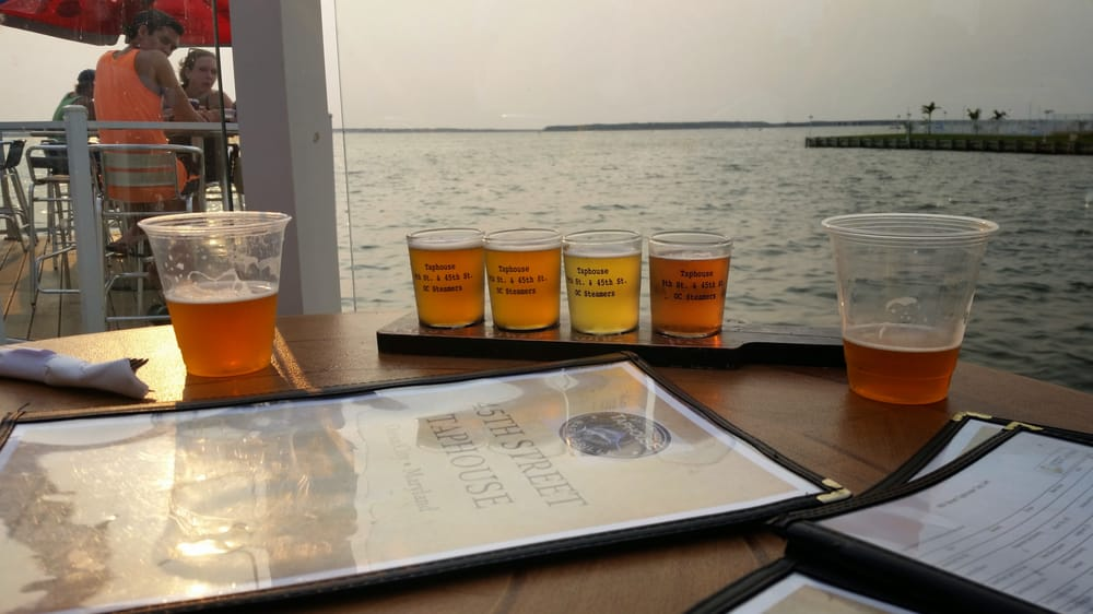 Language In 45 And 47 Stella Street: Beer Flight On The Water!