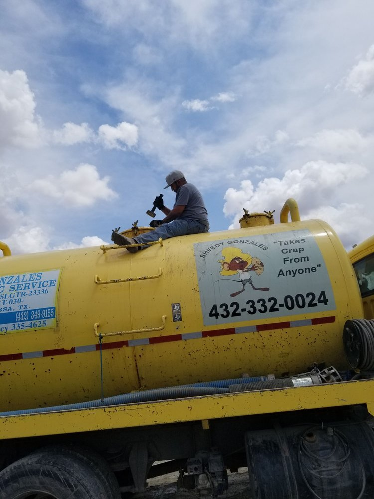Gonzales Septic Service: 126 E Junction Dr, Odessa, TX
