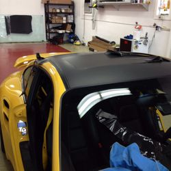 Top of the line tinting