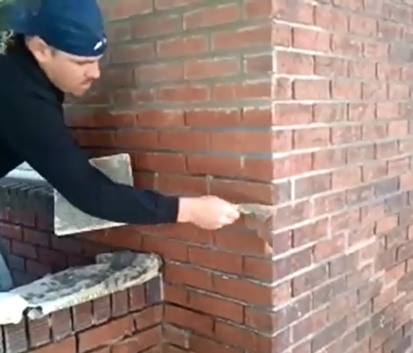 All You Need to Know About Tuckpointing - Bob Vila |Tuck Point Mortar Retaining Wall