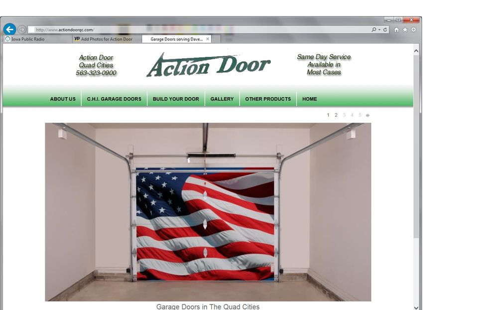 Action Door: Eldridge, IA