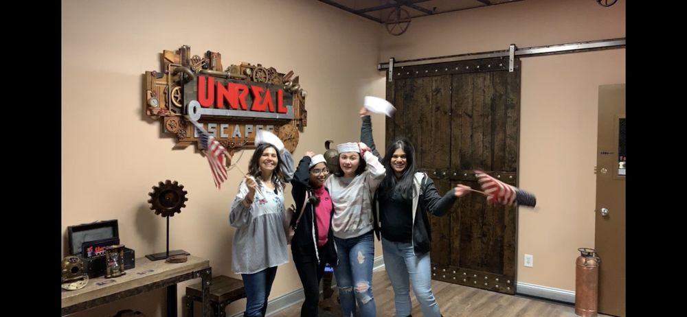 Social Spots from Unreal Escapes - Staten Island's Premiere Live Escape Room