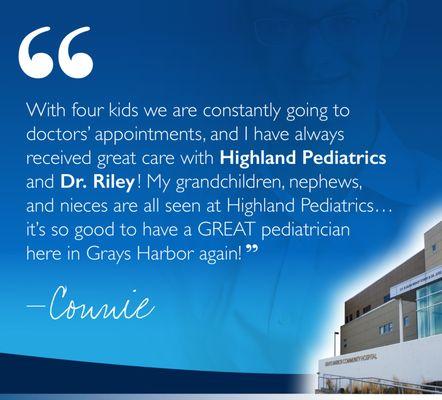 Grays Harbor Community Hospital 915 Anderson Dr Aberdeen, WA