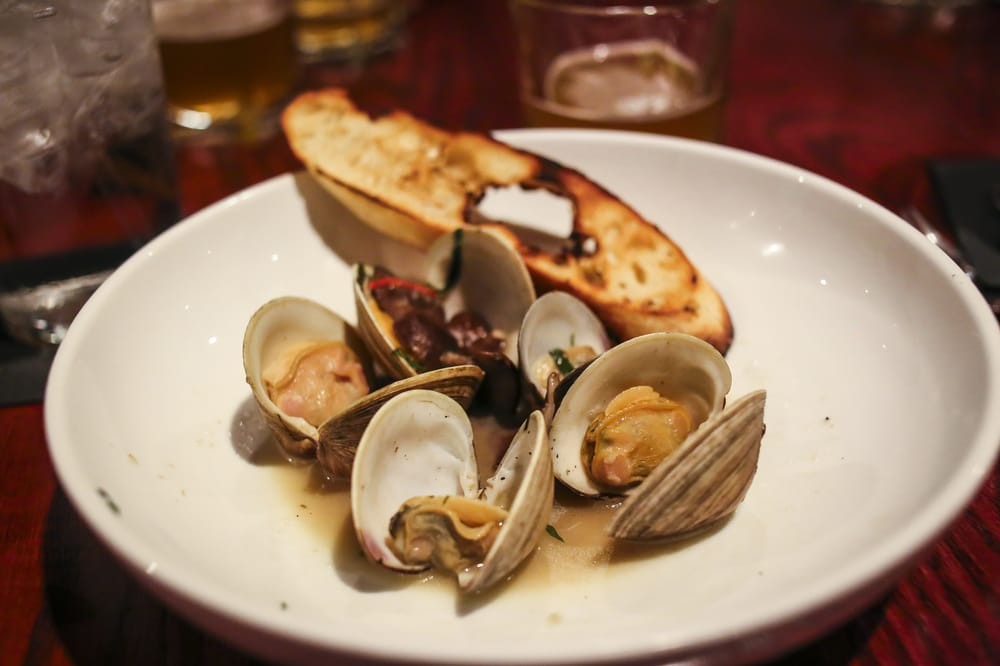 Beer pairing steamed clams yelp for Table 9 morgantown