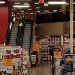 Photo Of Fred Meyer One Stop Shopping   Newport, OR, United States.  Escalators