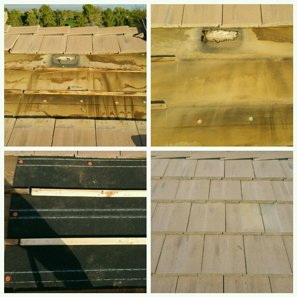 300 Tile Leak Repair Call Patterson Roofing For A Free