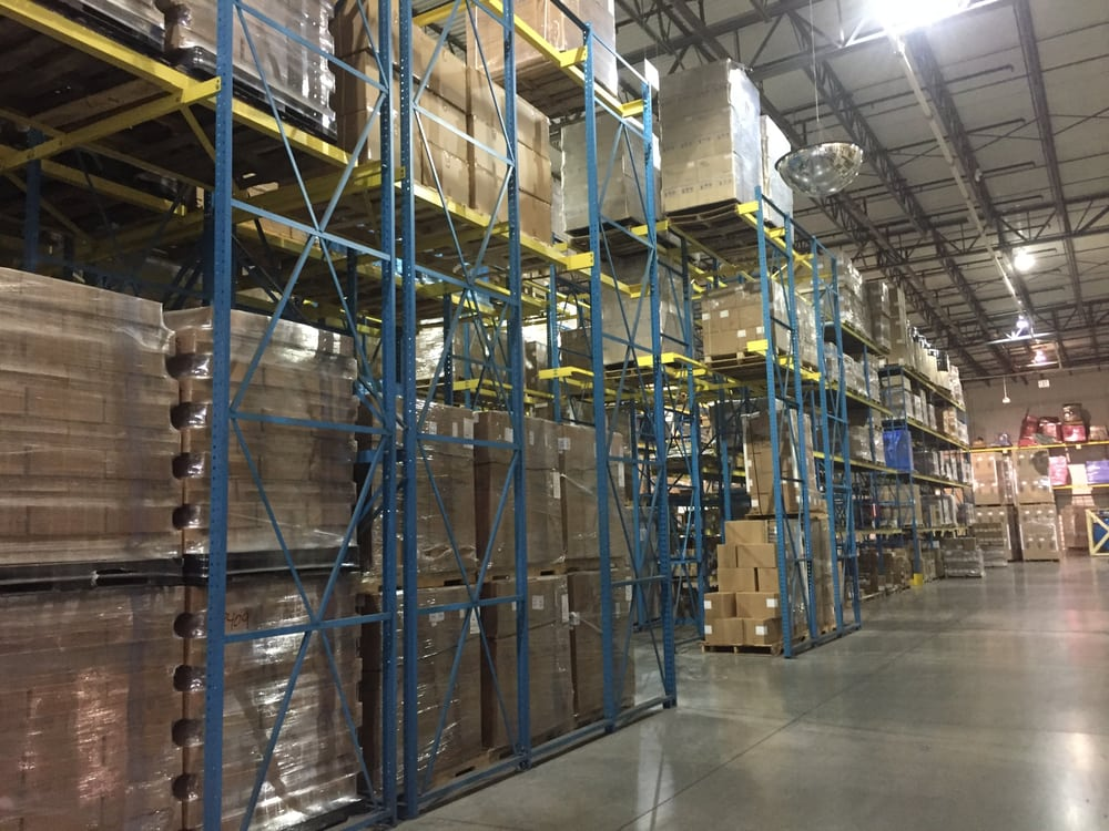 Never A Shortage Of Inventory At The Culligan Warehouse