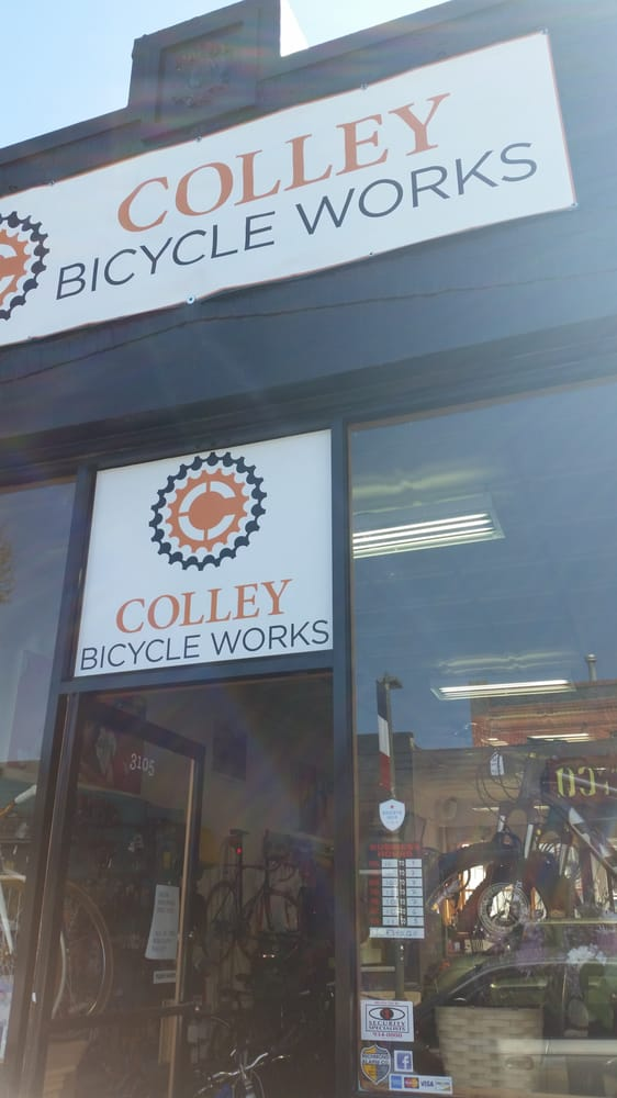 Colley Bike Shop Closed Bikes 3105 W Cary St