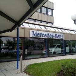 Mercedes benz car dealers otto hahn ring 20 for Mercedes benz dealership phone number