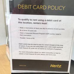 photo of hertz rent a car novato ca united states - Rental Car Places That Accept Debit Cards
