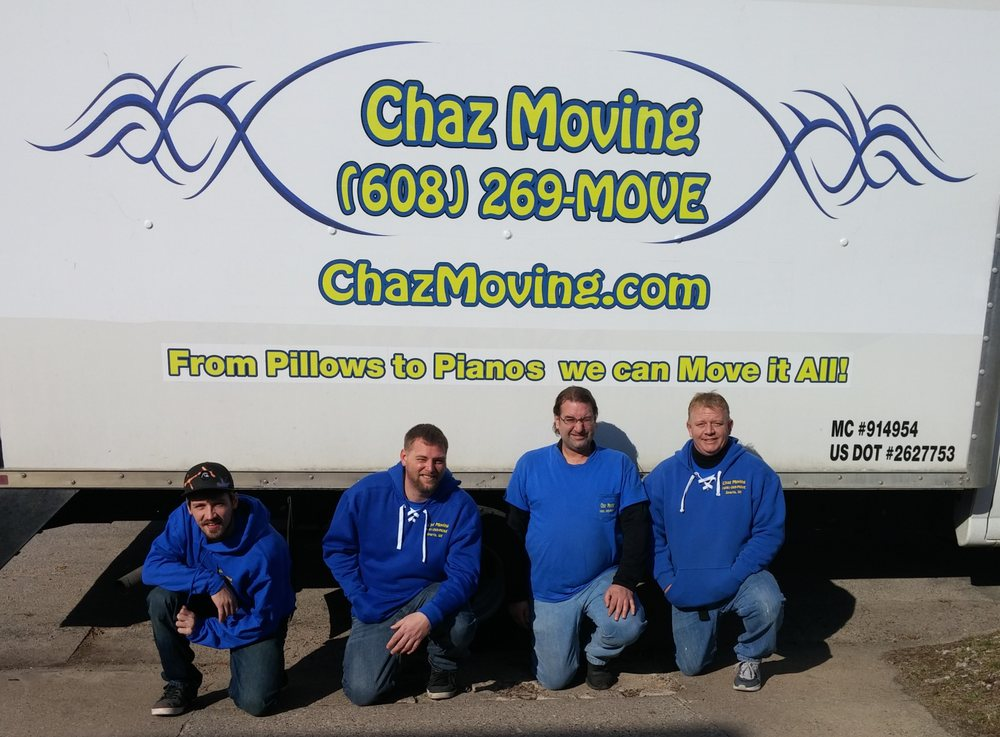 Chaz Moving: 313 S K St, Sparta, WI