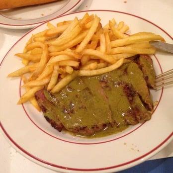 Steak und Pommes frites London
