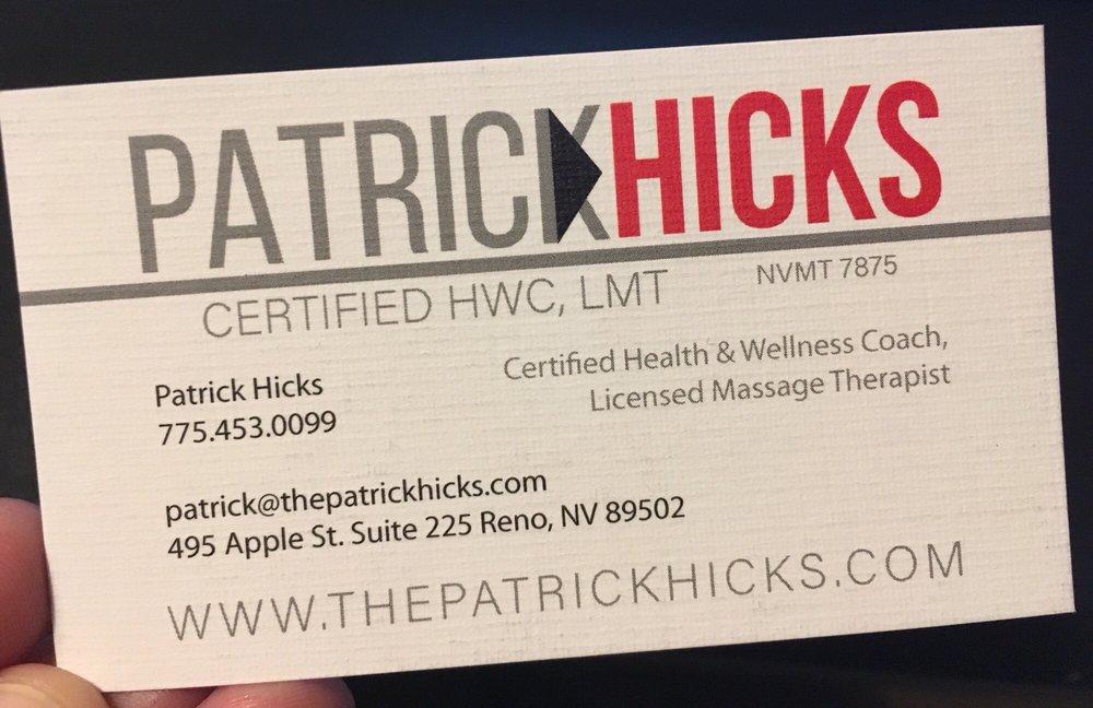Patrick Hicks Massage 12 Photos Massage Therapy 495 Apple St
