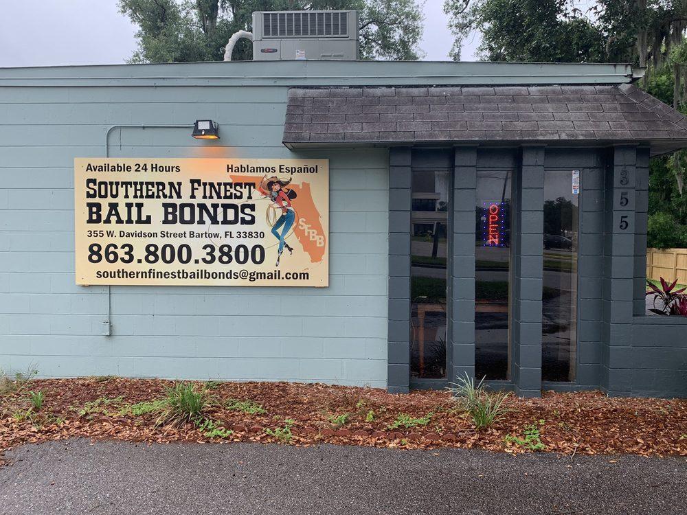 Southern Finest Bail Bonds: 355 W Davidson St, Bartow, FL